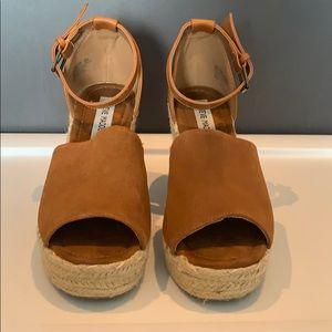 Suede Steve Madden Wedge Sandals